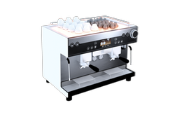 Espresso machine heating